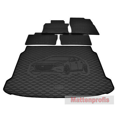 Kofferraumwanne mit Antirutsch für Mazda 3 III-Gen ab 2013 Schrägheck Bj