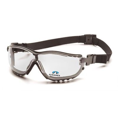 Pyramex V2G Bifocal Safety Glasses/Goggle Clear Lens Multiple Diopters