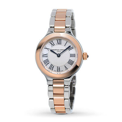Frederique Constant Women's FC-200M1ER32B Quartz Two-Tone Bracelet 28mm Watch