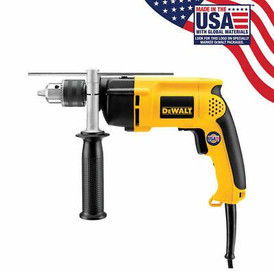 Dewalt Corded 12hammer Drill Kit With Case