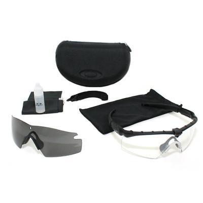 8f7e0e67914ac Oakley SI M Frame 2.0 Ballistic Shooting Sunglasses MCPES Class1 Gray+Clear  lens