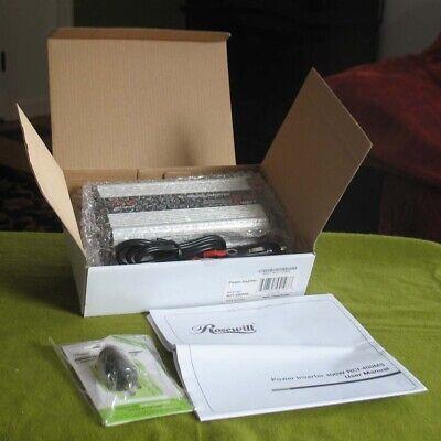 Rosewill 400 Watt Mobile Power Inverter NEW in Package + USB Power Adapter ()