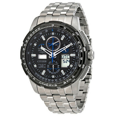 Citizen Promaster Skyhawk A-T Mens Limited Edition Titanium Watch JY8068-56E