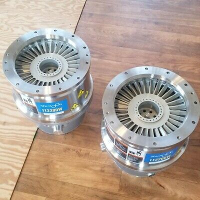 Rare And Massive Turbo Pumps 2200 Ls Turbo Molecular Vacuum Pump Iso250 Flange