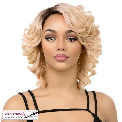 MAGIC - IT'S A WIG SYNTHETIC HAIR FULL WIG SHORT CURLY SIDE PART - Magic Wig