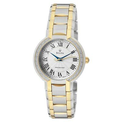 Bulova Women's 98R161 FAIRLAWN Diamond bezel Watch