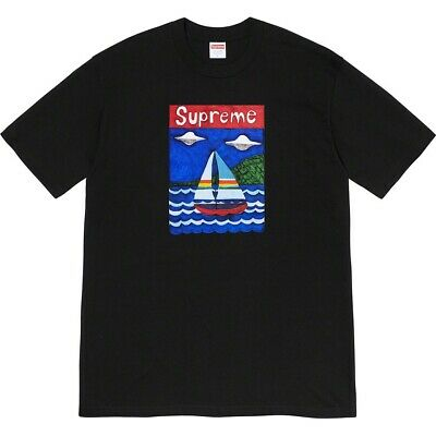 Supreme Sailboat Tee Black Large