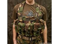 PLCE BRITISH ARMY CHEST RIG