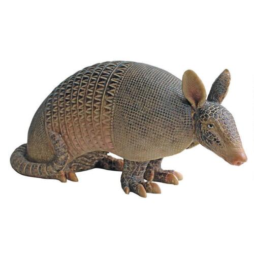 Armadillo Garden Statue Lifelike Wildlife Texas State Animal Sculpture