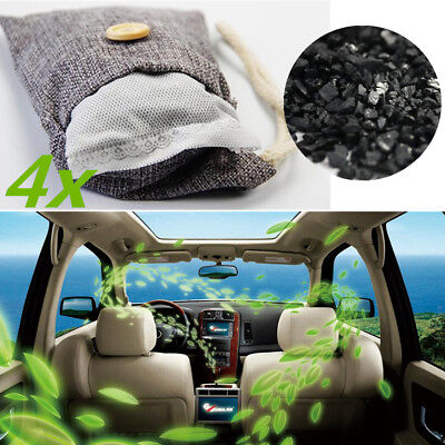 Bamboo Charcoal Bag Fresh Air Odor Deodorizer Car Interior Cleaner Accessories