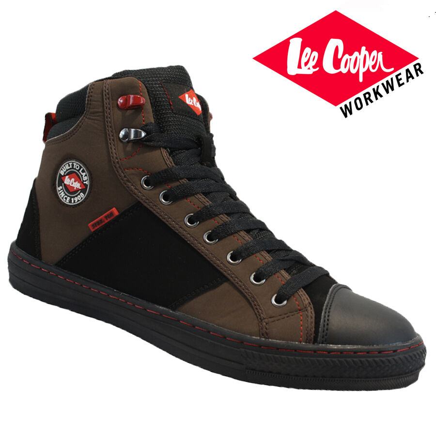 Mens Lee Cooper Safety Work Boots Steel Toe Cap Shoes Trainers