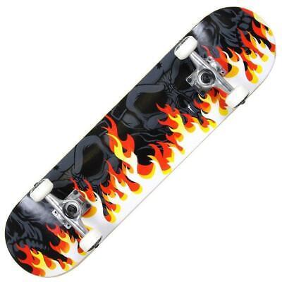 MGP Gangsta On Fire Skateboard
