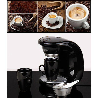 ELBSTAFFE Mini Coffee Maker Espresso Machine 2Cups Included German BNB-450W