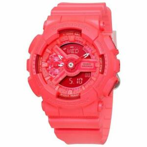 Casio G-Shock S Series Ladies Candy Red Resin Watch GMAS110VC-4A
