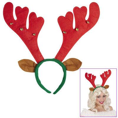 RENTIER HAARREIF Weihnachten Party Kostüm Zubehör Ohren Elch Geweih Hörner (Elch Geweih Kostüm)