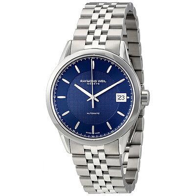 Raymond Weil Freelancer Automatic Blue Dial Mens Watch 2740-ST-50021