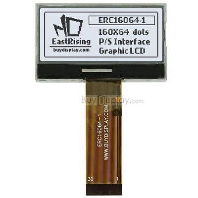 2lcd Module 160x64 Graphic Displayparallelspi Seriali2c Wtutorialconnector