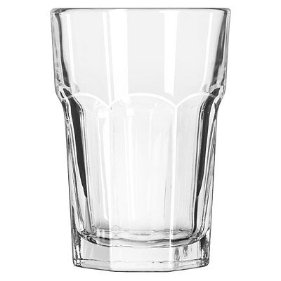 Set of 6 Libbey 15244 Gibraltar DuraTuff 14 oz Beverage Glass