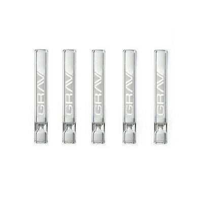 5 Pack Of Glass Tube One Hitter Pipes