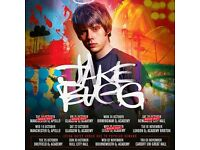 4x Jake Bugg standing tickets, Manchester Apollo, Tuesday 18th October