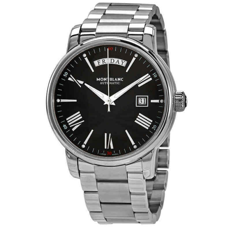 Montblanc-4810-Day-Date-Automatic-Black-Dial-Men-Watch-115937