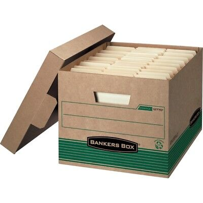 12 PACK Fellowes Bankers Box 12770 Recycled Stor/File Medium-Duty