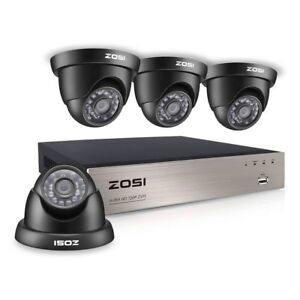720p HD Security Camera System Brand New