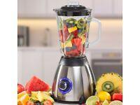 Daewoo Electric Food Blender 5 Speed Smoothie Maker Baby Grinder 1.5L Glass Jug