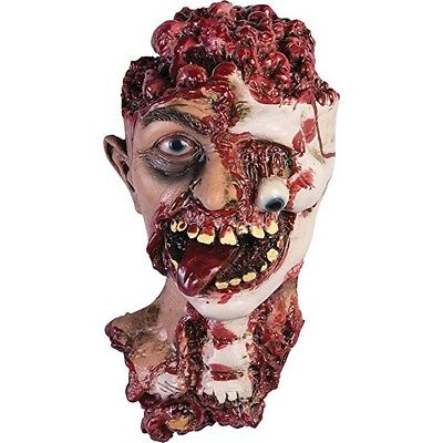 Gory Zombie Head Severed Bloody Scary Haunted House Halloween Prop - Severed Head Halloween Prop