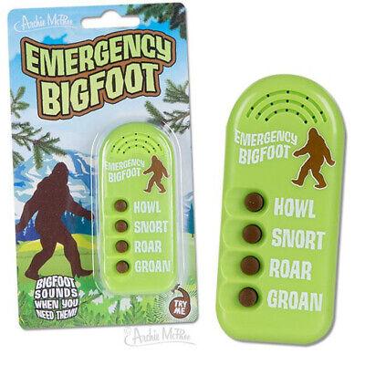 Different Sounds - Emergency Bigfoot Noisemaker - 4 Different Sounds Howl, Snort, Roar and Groan