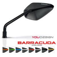 Barracuda - Pair Of A-version Motorcycle Mirrors - Black - Yamaha Xjr1300 - barracuda - ebay.co.uk