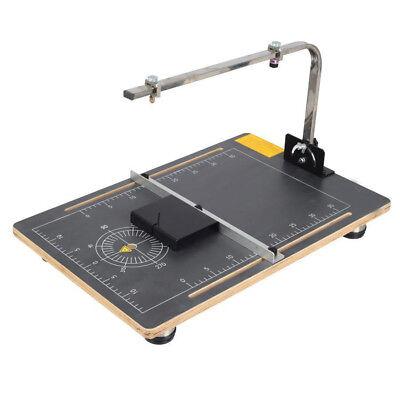 Hot Wire Foam Cutter Foam Cutting Slitting Machine 3858cm 110v Vertical Cutter