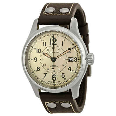 Hamilton Khaki Field Automatic Old Paper Dial Men's Watch H70595523