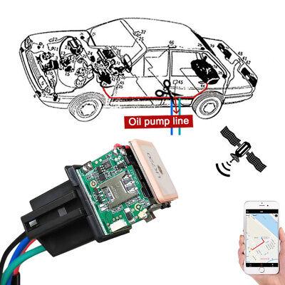 - Hidden Car Tracking Relay GLONASS GPS Tracker Anti-theft Phone APP Oil Pump Kill