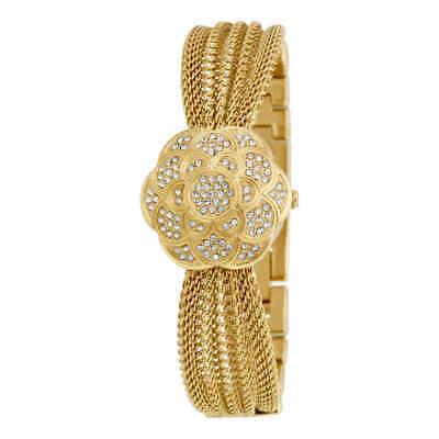 Anne Klein Gold-tone Stainless Steel Multi-chain Bracelet 1046CHCV