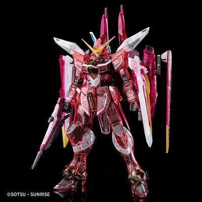 [Event Limited] MG 1/100 Justice Gundam [Clear Color] Gundam EXPO 2017 Bandai