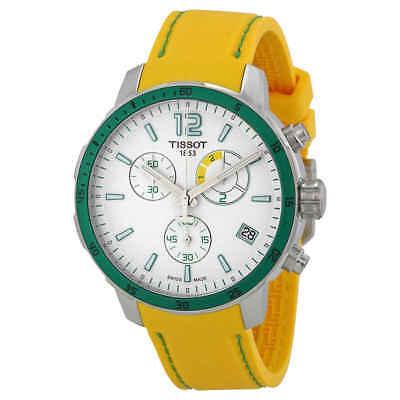 Tissot Quickster Chronograph Soccer World Cup Men's Watch T0954491703701