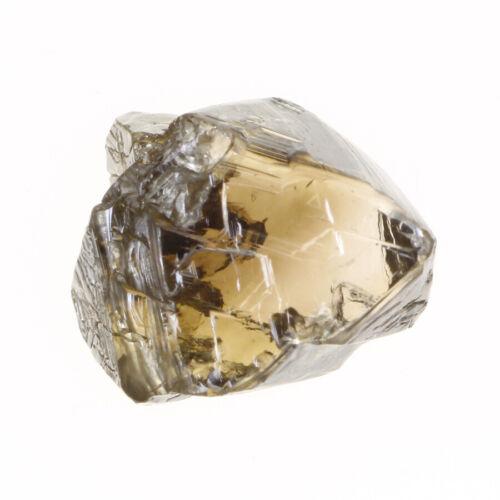 Wonderful Light Brown Color VS2 Clarity 1.39 Carat Lovely Natural Rough Diamond