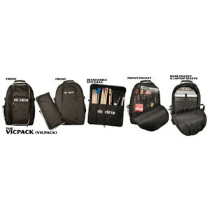 Vic Firth Vicpack Drummers Backpack Stick Bag