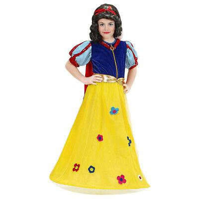 KOSTÜM KINDER Schneewittchen Karneval Kleid Mädchen # 1287 (Mädchen Märchen Prinzessin Kostüm)