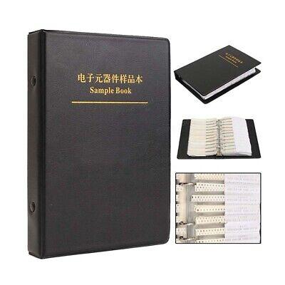 02010402060308051206 Smd Resistorscapacitors Etc. Samples Book Assorted Kit