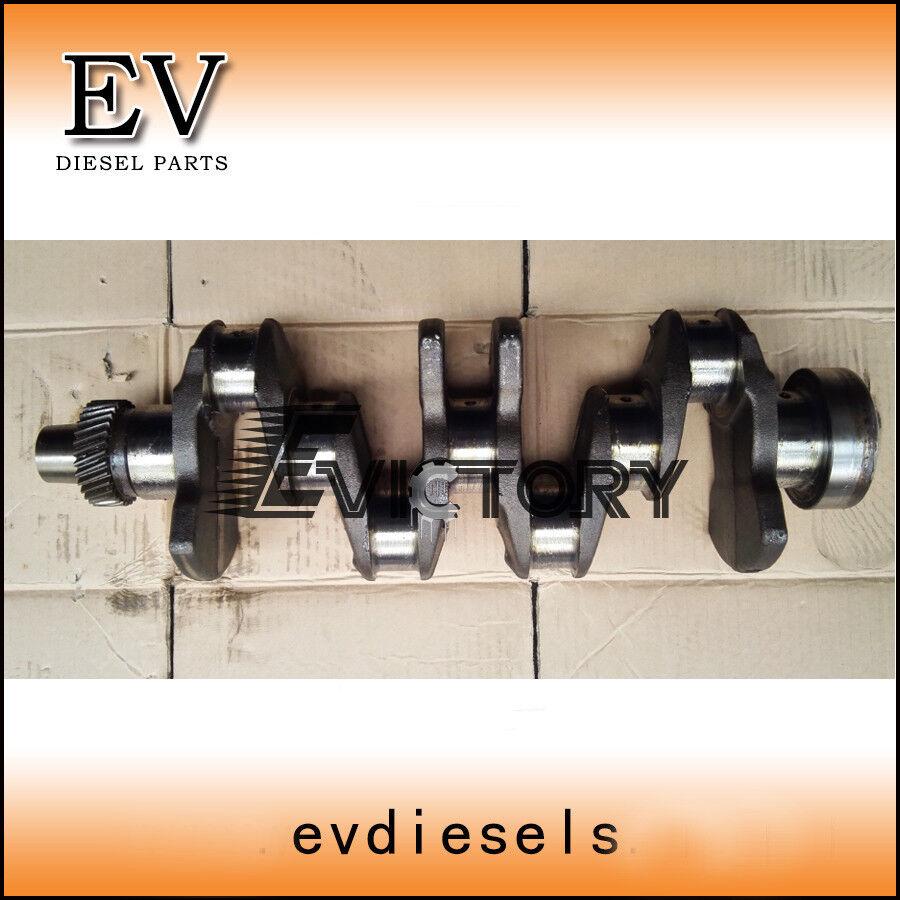 Engine repair 4JB1 4JB1T crankshaft+ piston ring liner gasket bearing