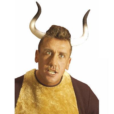 BULLENHÖRNER HAARREIF # Ochsen Bullen Stier Büffel Hörner - Ochsen Hörner Kostüm