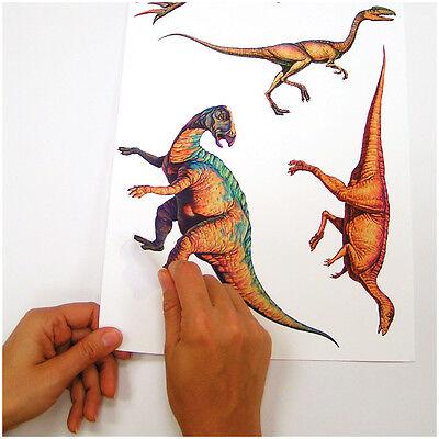 Roommates wandsticker dinos wandtattoo dinosaurier dino kinderzimmer sonderpreis ebay - Wandtattoos dinosaurier ...
