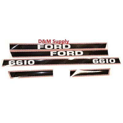 Ford Tractor Decal Set 6610 Stickers 1115-1596