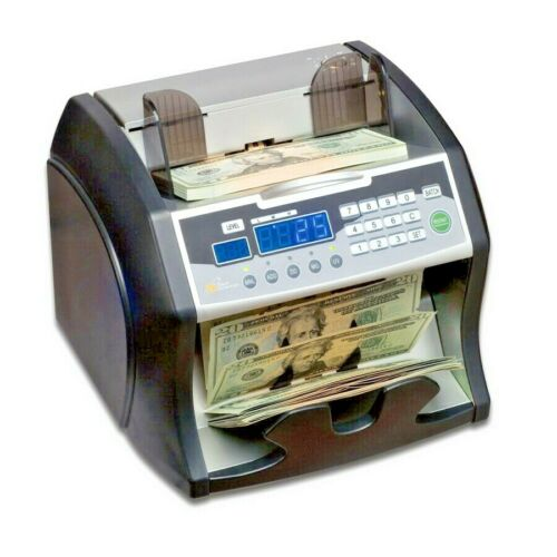 Royal Sovereign High-Speed Bill Counter, Counterfeit Detection (UV, MG, IR)