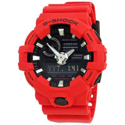 Casio G-Shock Red Resin Men's Watch GA-700-4ACR