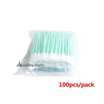 100pcs Printhead Cleaning Swabs For Epsonrolandmimakimutoh Inkjet Printers