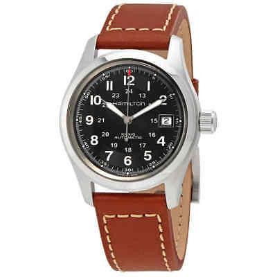 Hamilton Khaki Automatic Black Dial Men's Watch H70455533