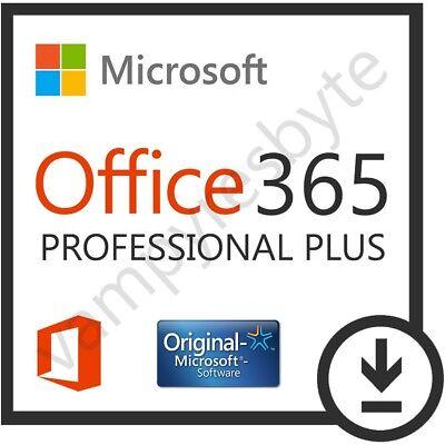 Microsoft Office 365 Lifetime Windows Mac Android   1 Tb Onedrive   5 User